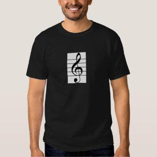 Men's Treble clef / Violin Shirt for Violinist