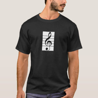Men's Treble clef / Violin Shirt for Violinist