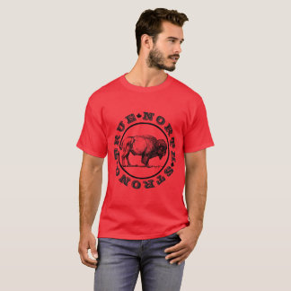 Men's True North Strong Bison T-shirt