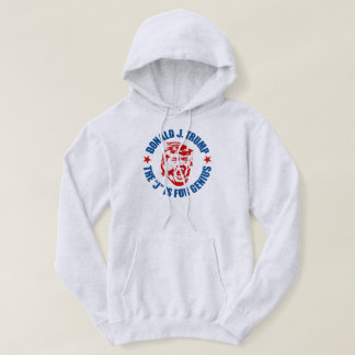 "Men's Trump Hoodie: ""The J is for Genius"" Hoodie"