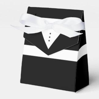Mens Tux - Groom or Groomsmen Tuxedo Favor Box