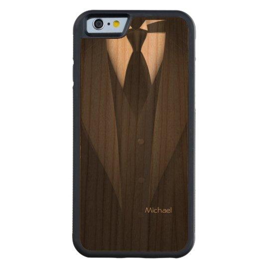 Mens' Tuxedo Suit Cherry iPhone 6 Bumper