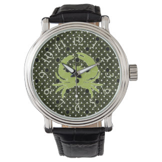 Men's & Unisex_Jimmy Crab*_Series_Pale Lime_ Watch