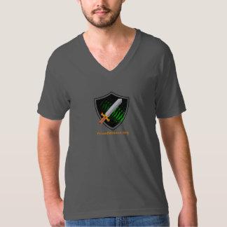 Men's V-neck t-shirt Prion Alliance logo