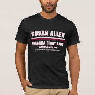 Men's VA First Lady Susan Allen Shirt (Black)
