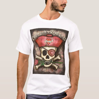 Men's Valentine's Day Pirate T-Shirt