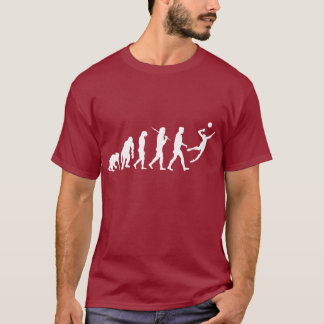 Mens volleyball evolution spike 2014 T-Shirt