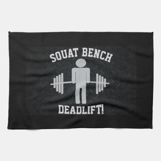 Men's Weightlifting Gym Towel