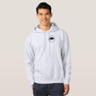 Men's White Buffalo Outdoors Hoodie Sweatshirt