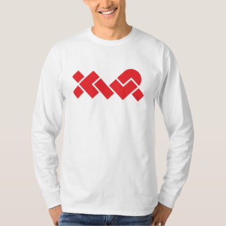 Men's White/Red XWP Long-Sleeve T-Shirt