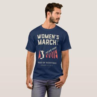 Men's Women's March SLO January Event T-Shirt