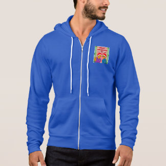 Men's Youthful Conquerors Christmas Hoodie Blue