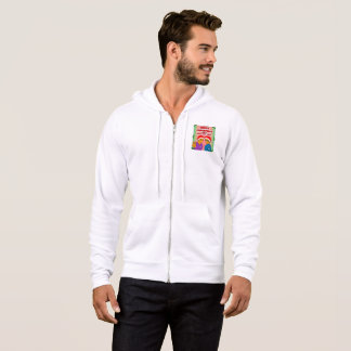 Men's Youthful Conquerors Christmas Zipped Hoodie