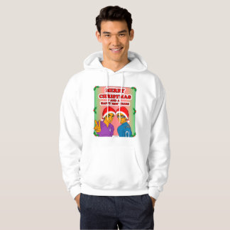 Men's Youthful Conquerors Xmas Hooded Sweatshirt