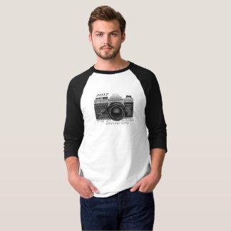 mens's 3/4 sleeve baseball t-shirt