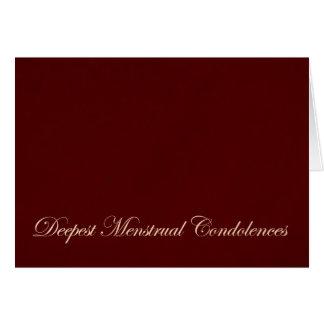 Menstrual Sympathy Cards