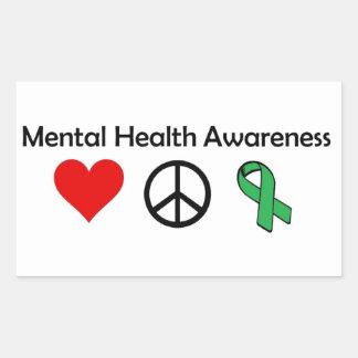 Mental Health Awareness - Love, Peace, Awareness