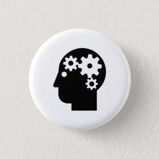 'Mental Health' Pictogram Button