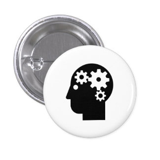 'Mental Health' Pictogram Button