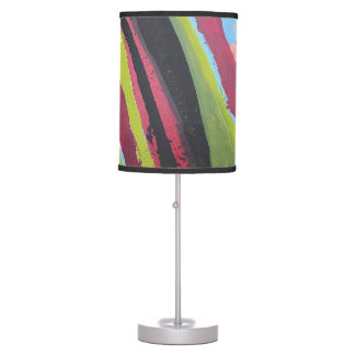Mental Receipt Table Lamp