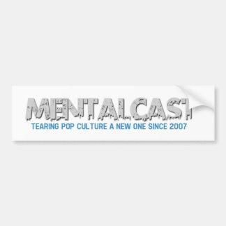 MentalCast Tearing Pop Culture A New One Bumper Sticker