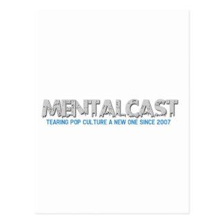 MentalCast Tearing Pop Culture a New One Postcard