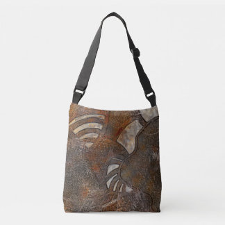 Mentally inward crossbody bag