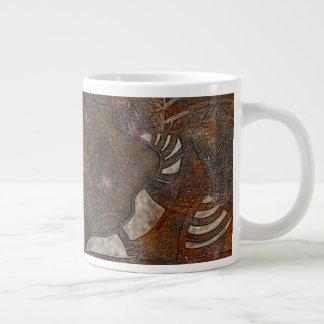 Mentally inward giant coffee mug