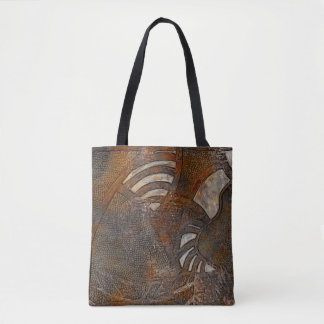 Mentally inward tote bag