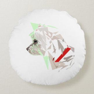Menthéos Round Pillow