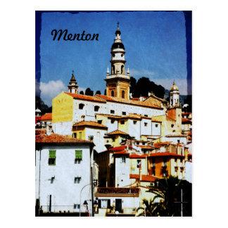Menton, Provence Postcard