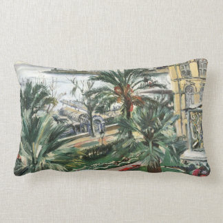 Mentone by Lovis Corinth Lumbar Pillow
