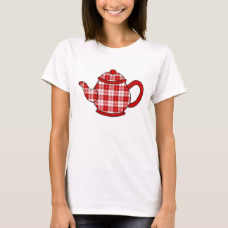 Menzies Tartan Plaid Teapot T-Shirt