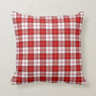Menzies Tartan Plaid Throw Pillow