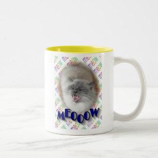 MEOOOW Two-Tone COFFEE MUG
