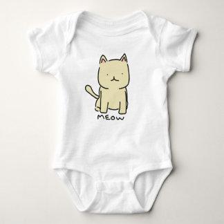 Meow Baby Jersey Bodysuit