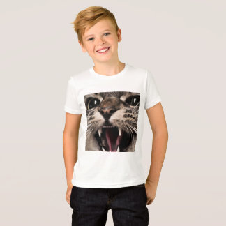 Meow Cat Yelling T-Shirt