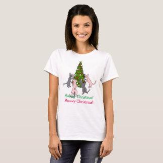Meow Christmas T-Shirt