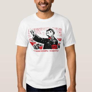 Meow de Président T Shirts