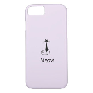 Meow gorgeous cat design - simply unique Case-Mate iPhone case