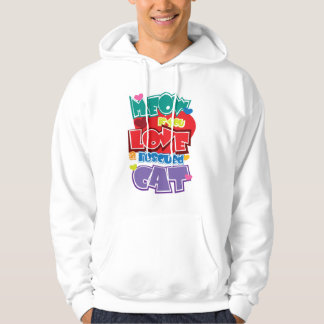 Meow If You Love A Rescued Cat Hoodie