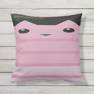 Meow Kitties Throw Pillow
