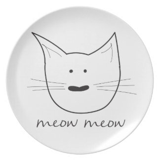 Meow Meow Plate