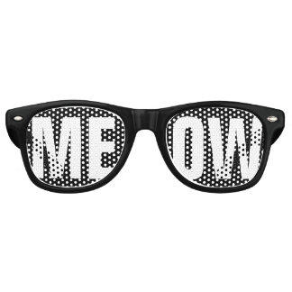 MEOW RETRO SUNGLASSES