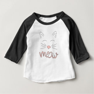 Meow Said the Cat Baby T-Shirt