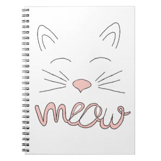 Meow Said the Cat Notebook