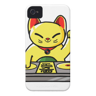 Meow-sician iPhone 4 Case-Mate Case