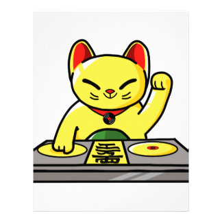 Meow-sician Letterhead