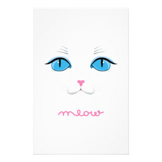 Meow Stationery