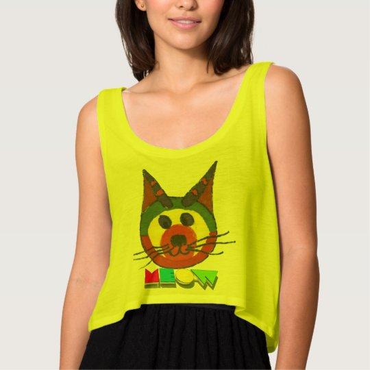 meow tank top